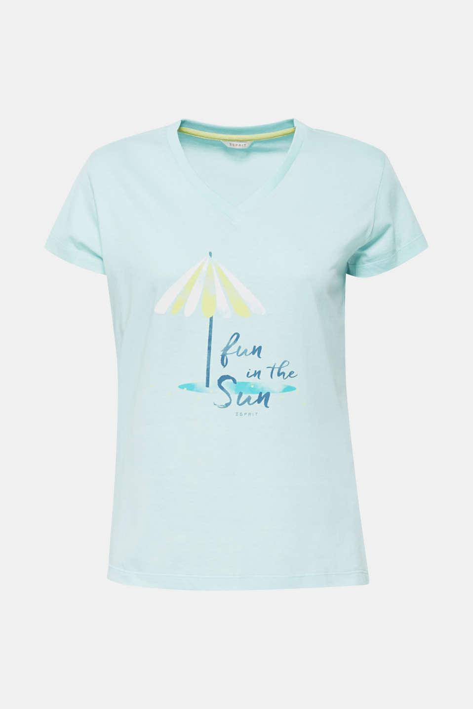 Night-T-Shirts, AQUA GREEN, detail image number 3