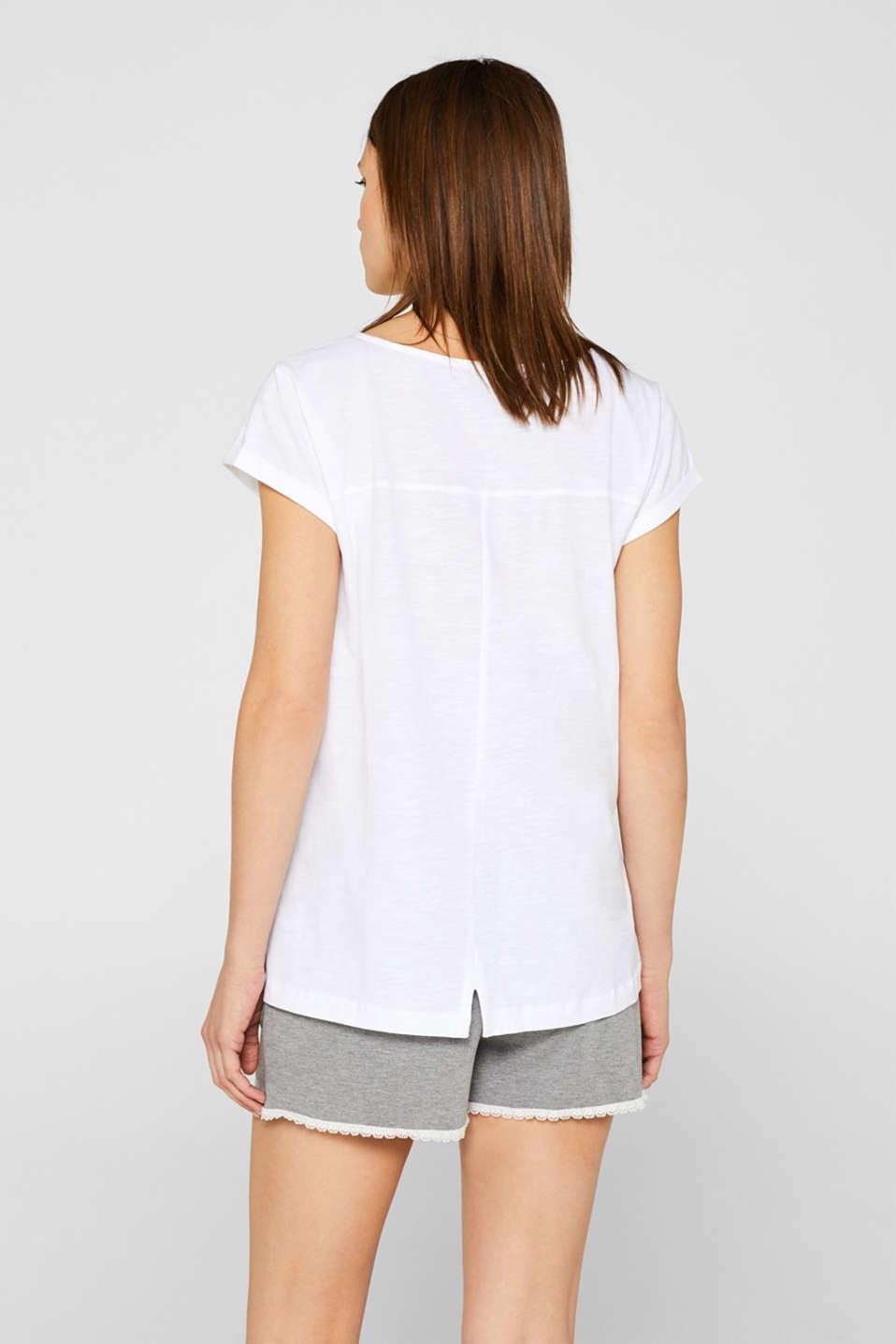 Night-T-Shirts, WHITE, detail image number 2
