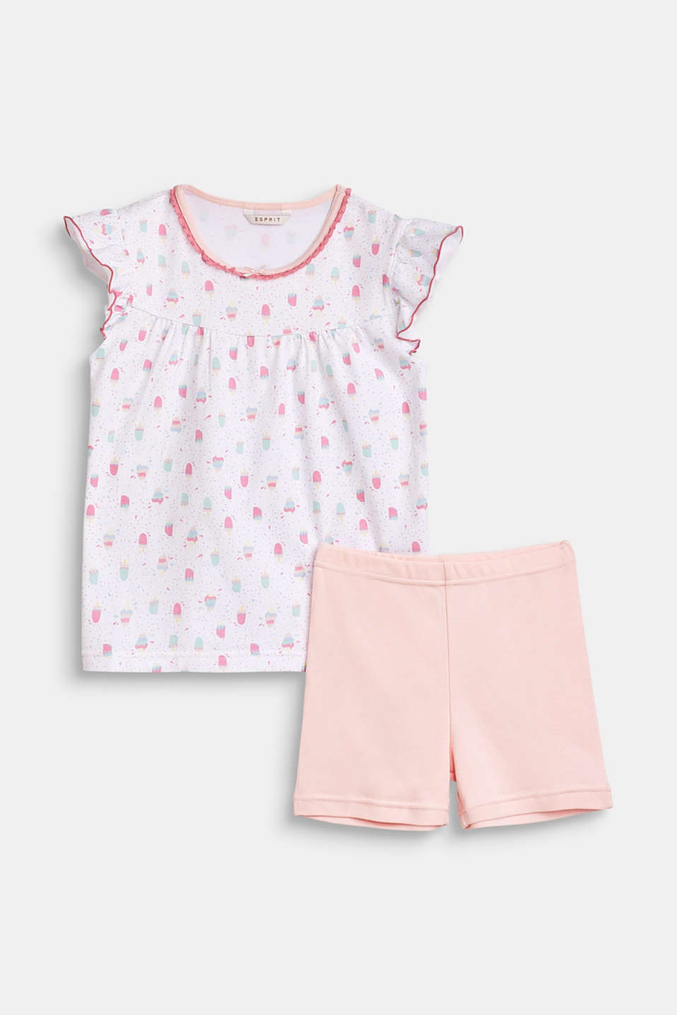 Esprit - Pyjamas top with an ice-cream pattern