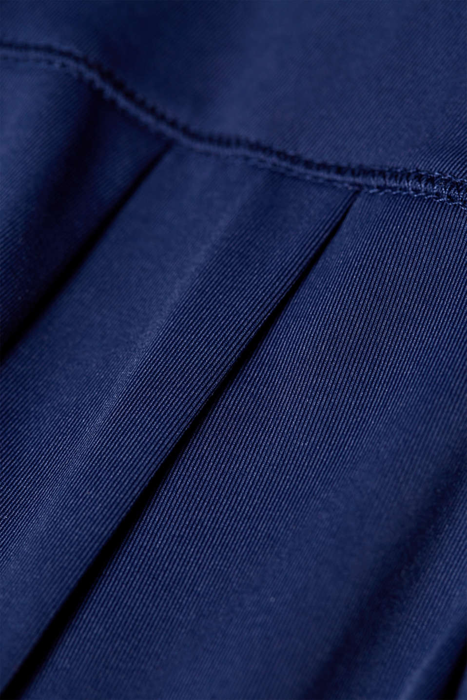 Loose active capris, E-DRY, NAVY, detail image number 3