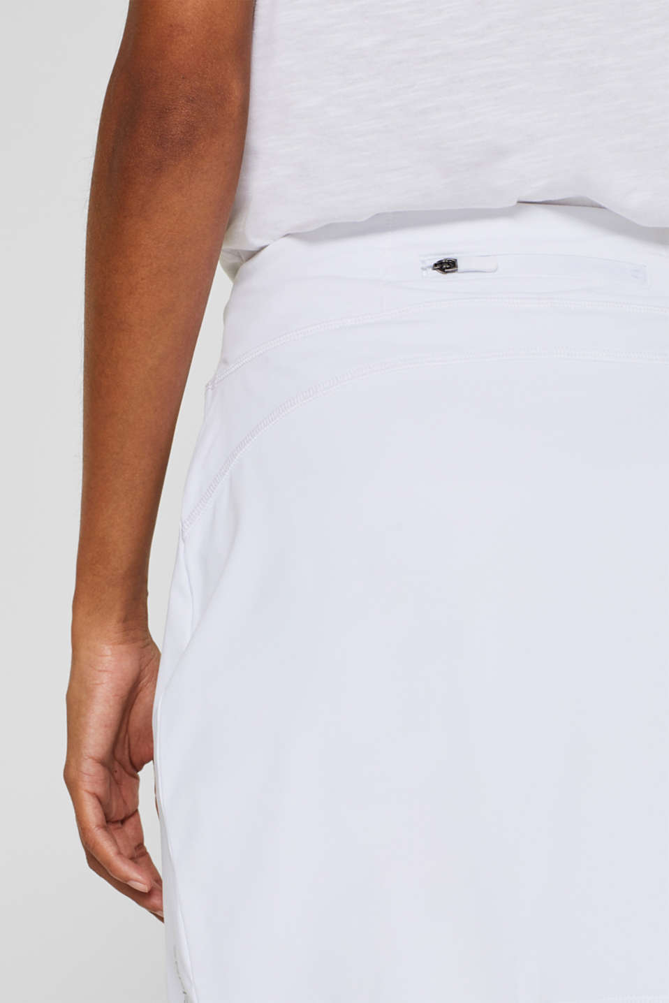 Shorts knitted, WHITE, detail image number 5