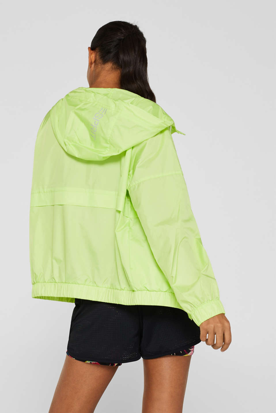 Jackets outdoor woven, LIME YELLOW, detail image number 3