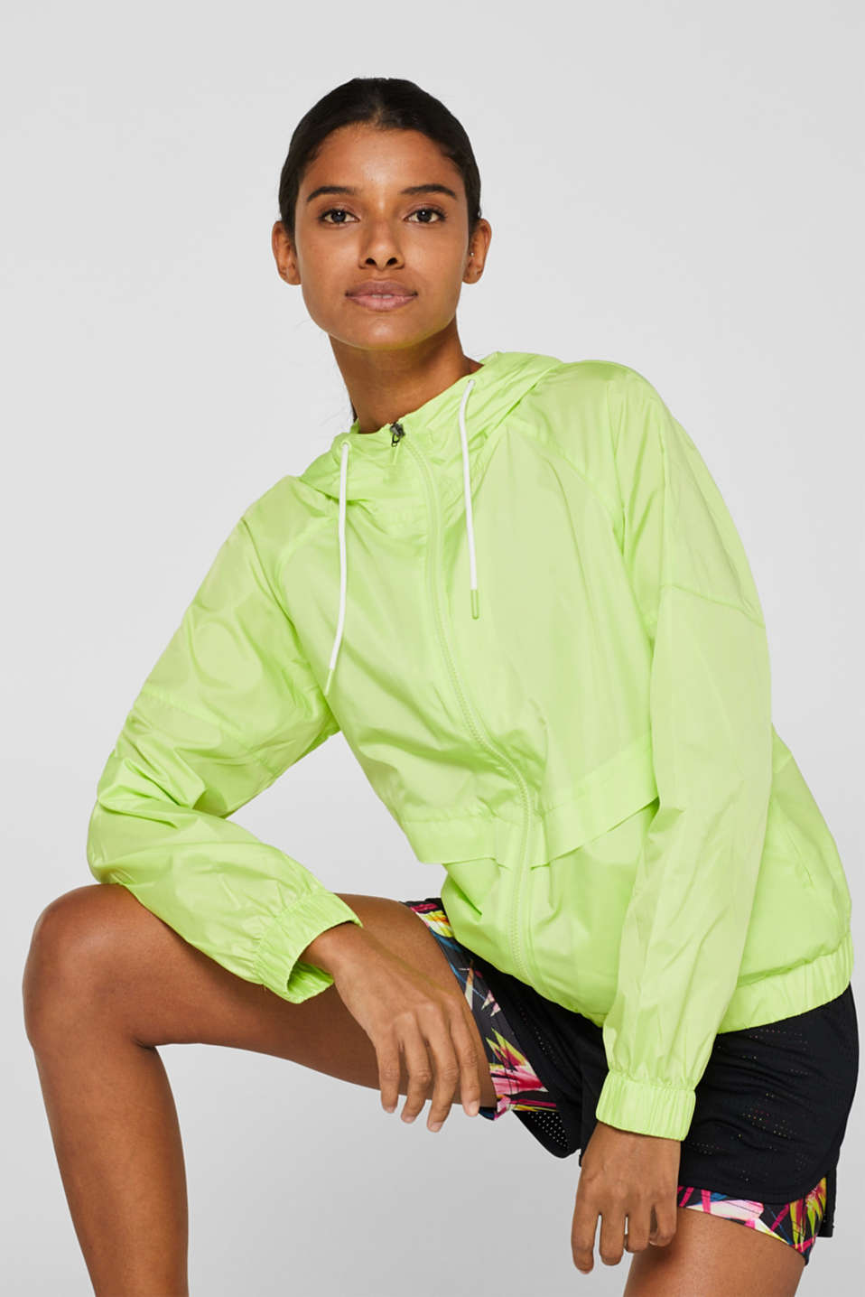 Jackets outdoor woven, LIME YELLOW, detail image number 5