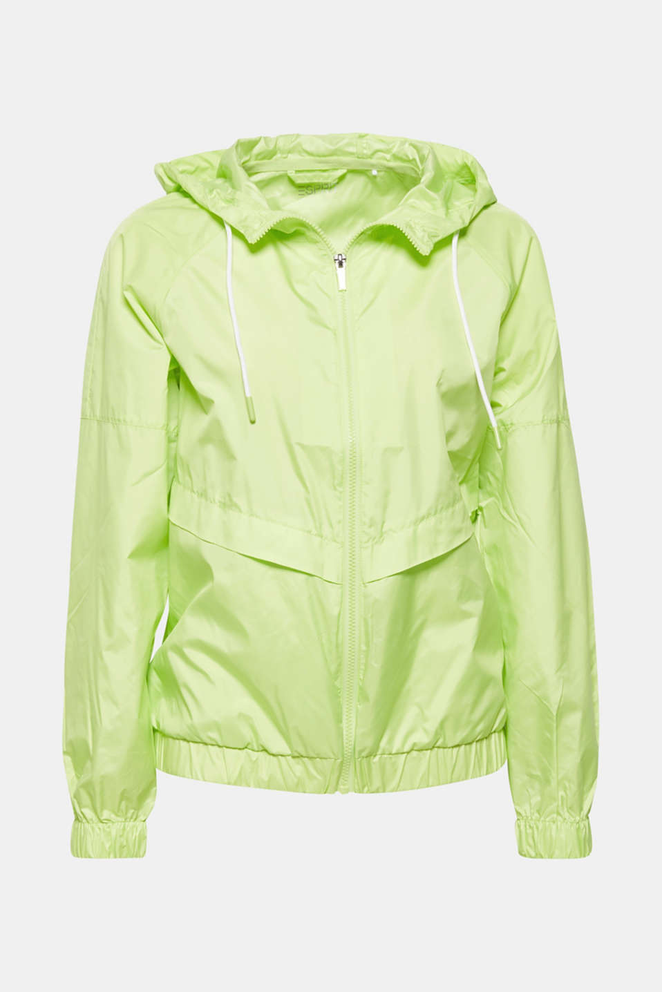 Jackets outdoor woven, LIME YELLOW, detail image number 6