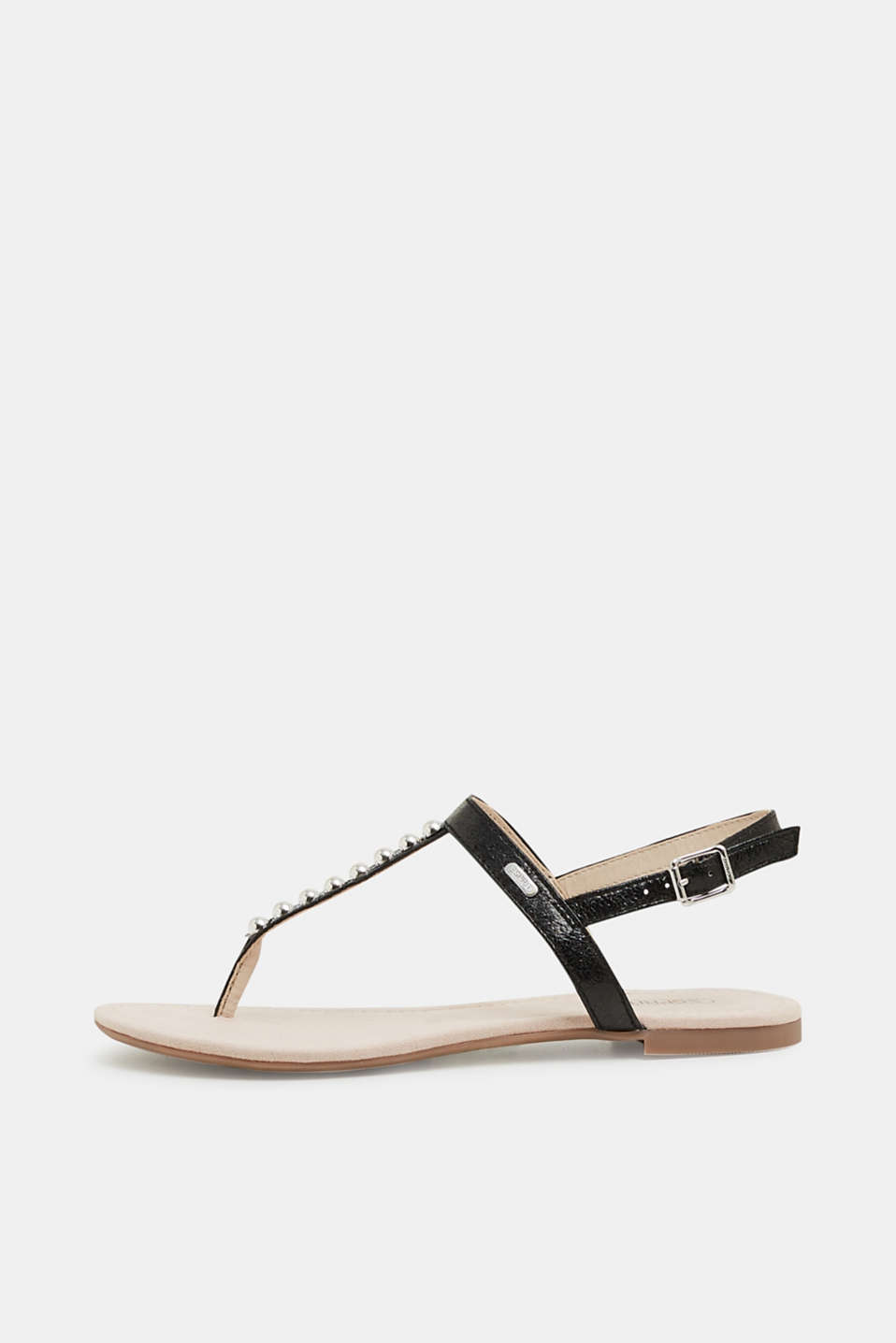 Esprit - Toe-post sandals trimmed with beads