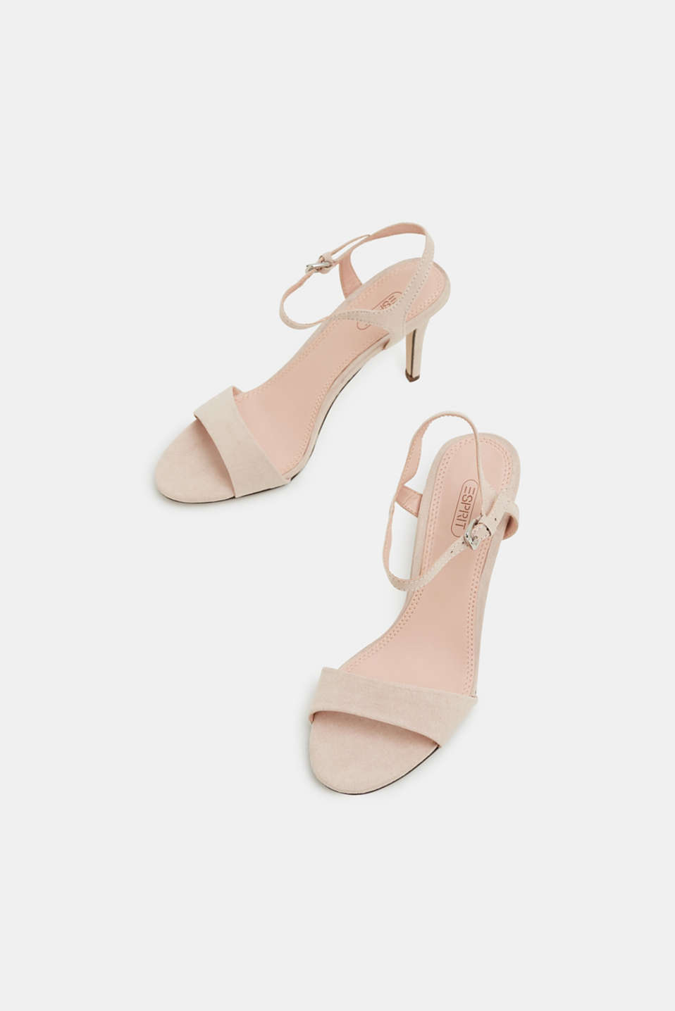 Faux suede sandals, SKIN BEIGE 2, detail image number 1