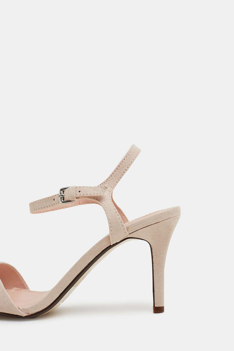 Faux suede sandals, SKIN BEIGE 2, detail image number 5