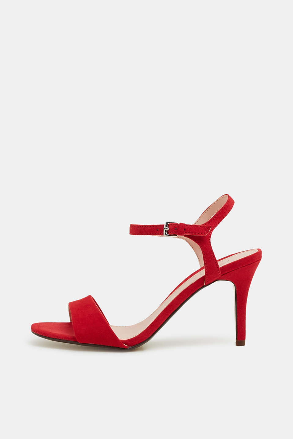 Esprit - Sandalette in Velours-Optik