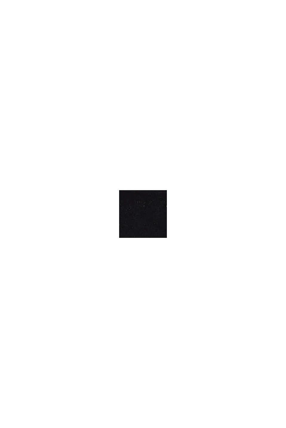 Sandalen van imitatiesuède, BLACK, swatch