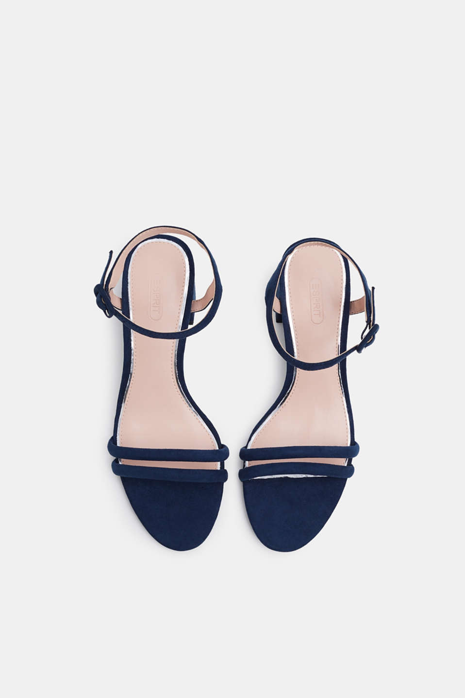 Faux suede sandals, NAVY, detail image number 1