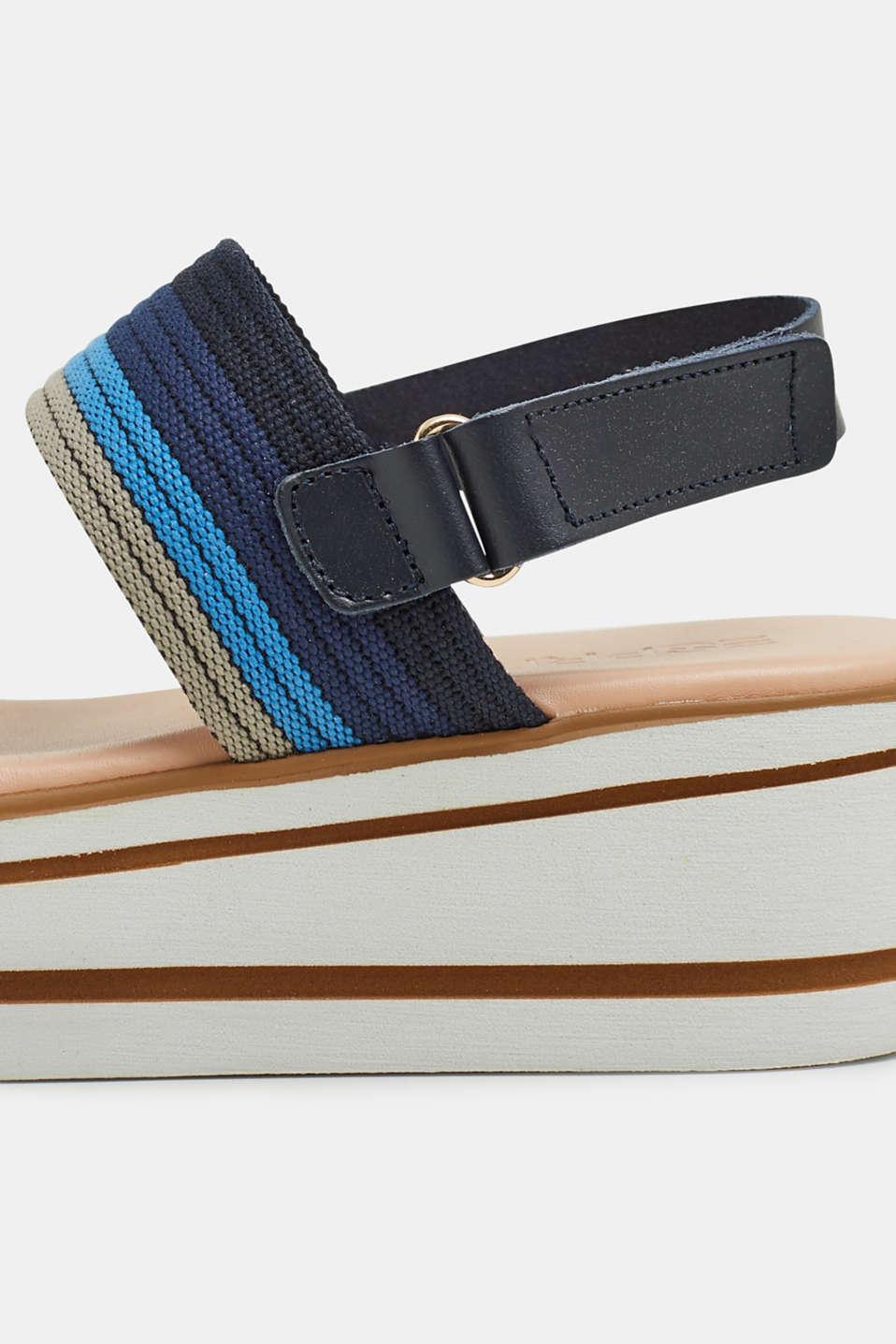 Formal Shoes textile, NAVY, detail image number 4