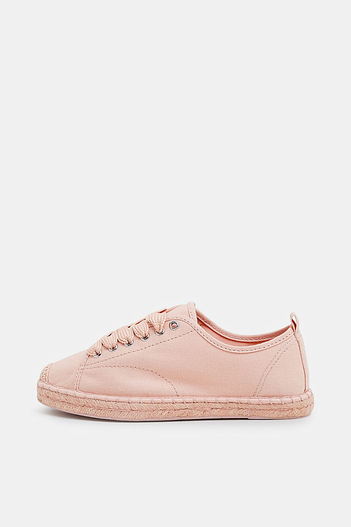 Canvas espadrille trainers