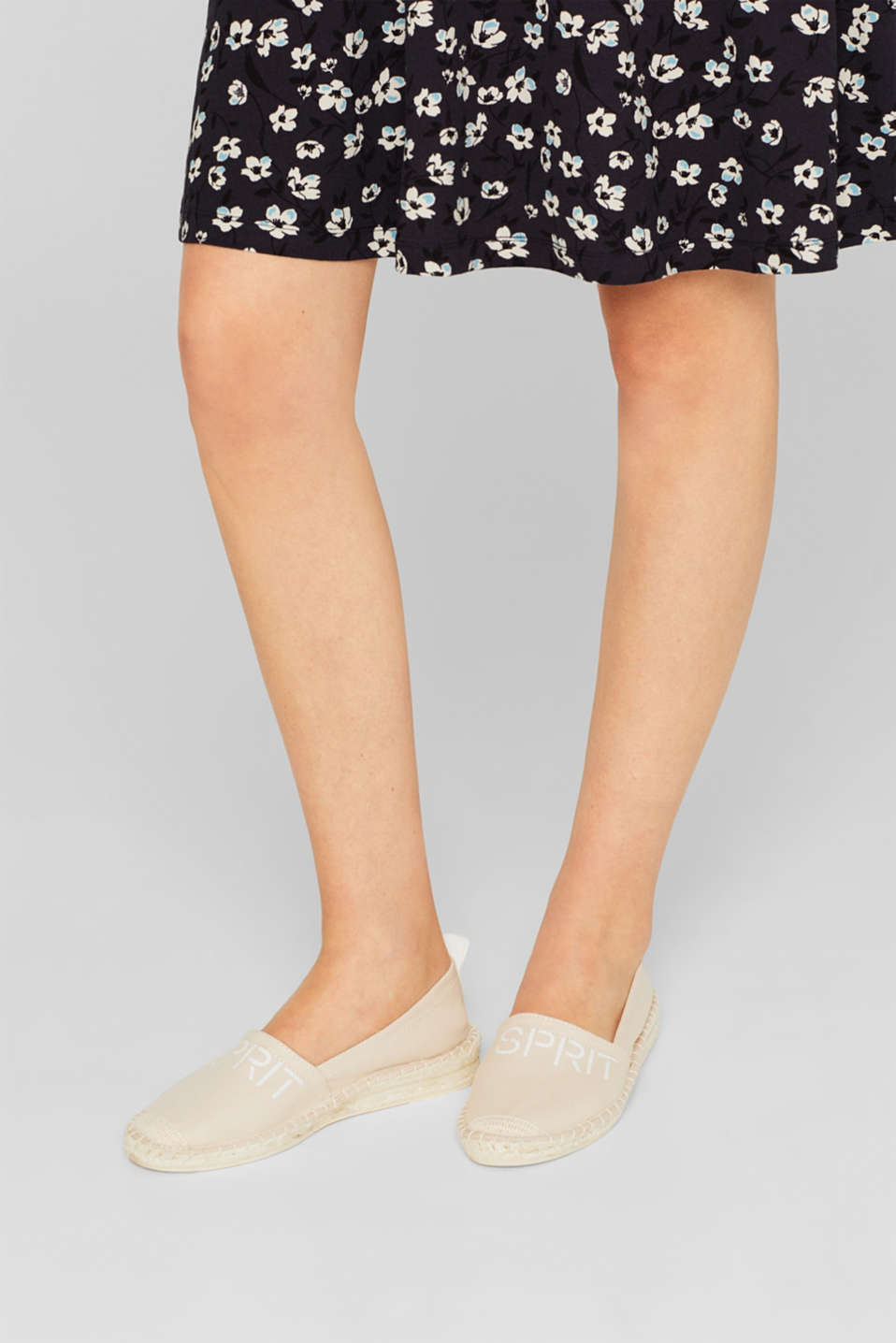 Casual Shoes textile, BEIGE, detail image number 2
