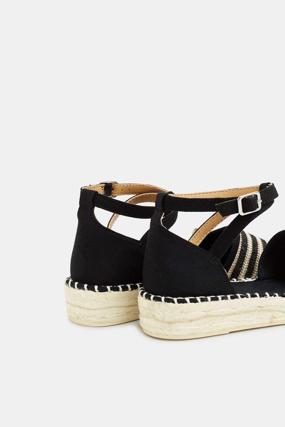Casual Shoes textile, BLACK, detail image number 5