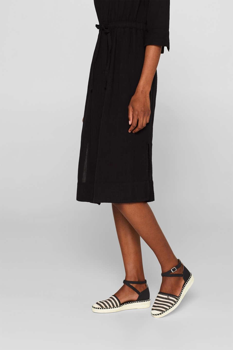 Casual Shoes textile, BLACK, detail image number 3