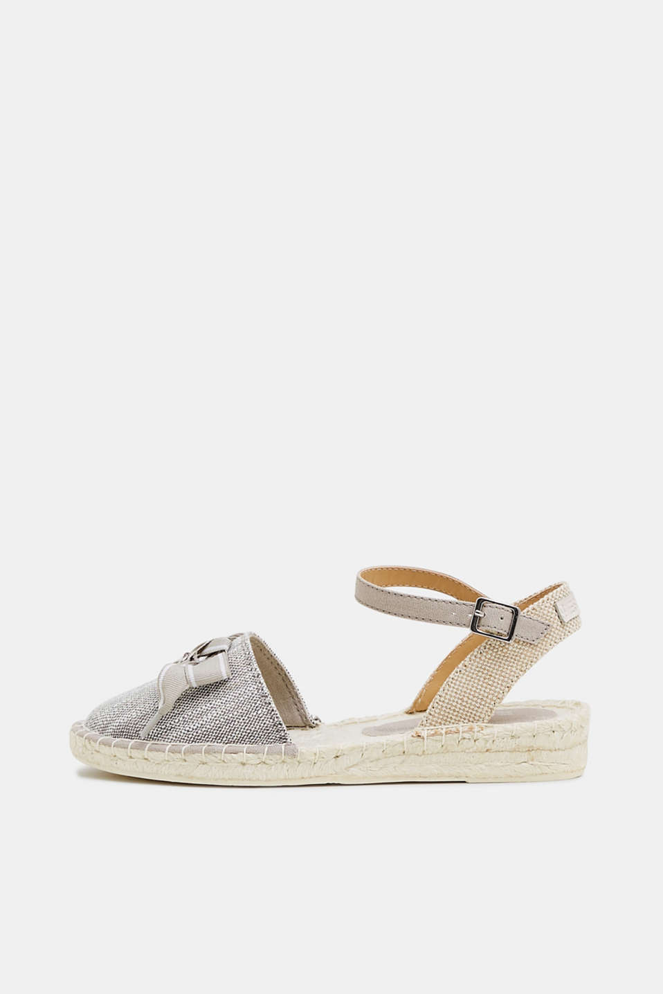 Esprit - Espadrille sandals with a bow