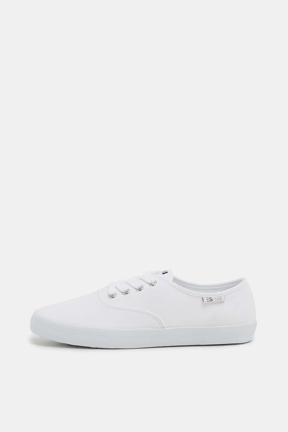 Esprit - Basis-sneakers af kanvas