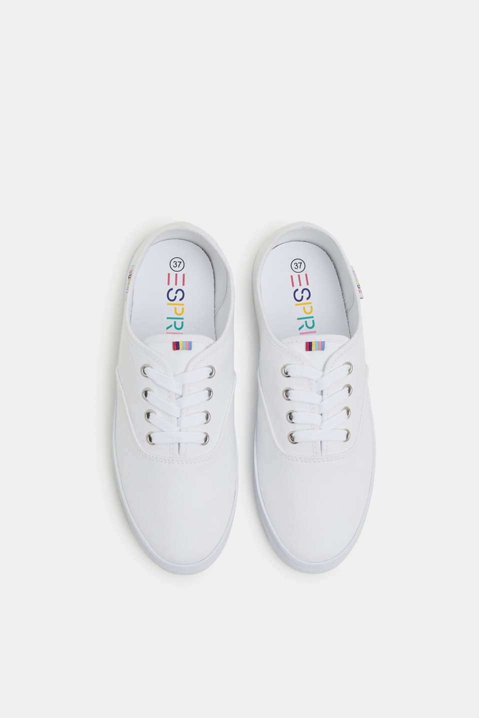 Casual Shoes textile, WHITE, detail image number 1