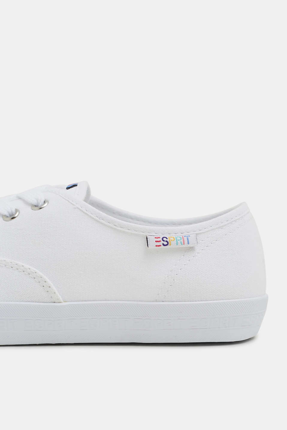 Casual Shoes textile, WHITE, detail image number 4