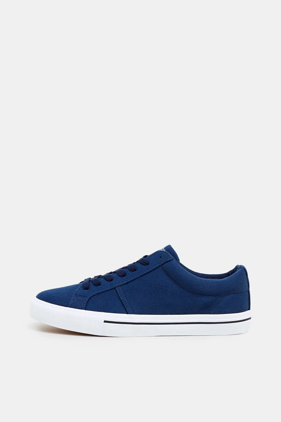Esprit - Cotton canvas trainers