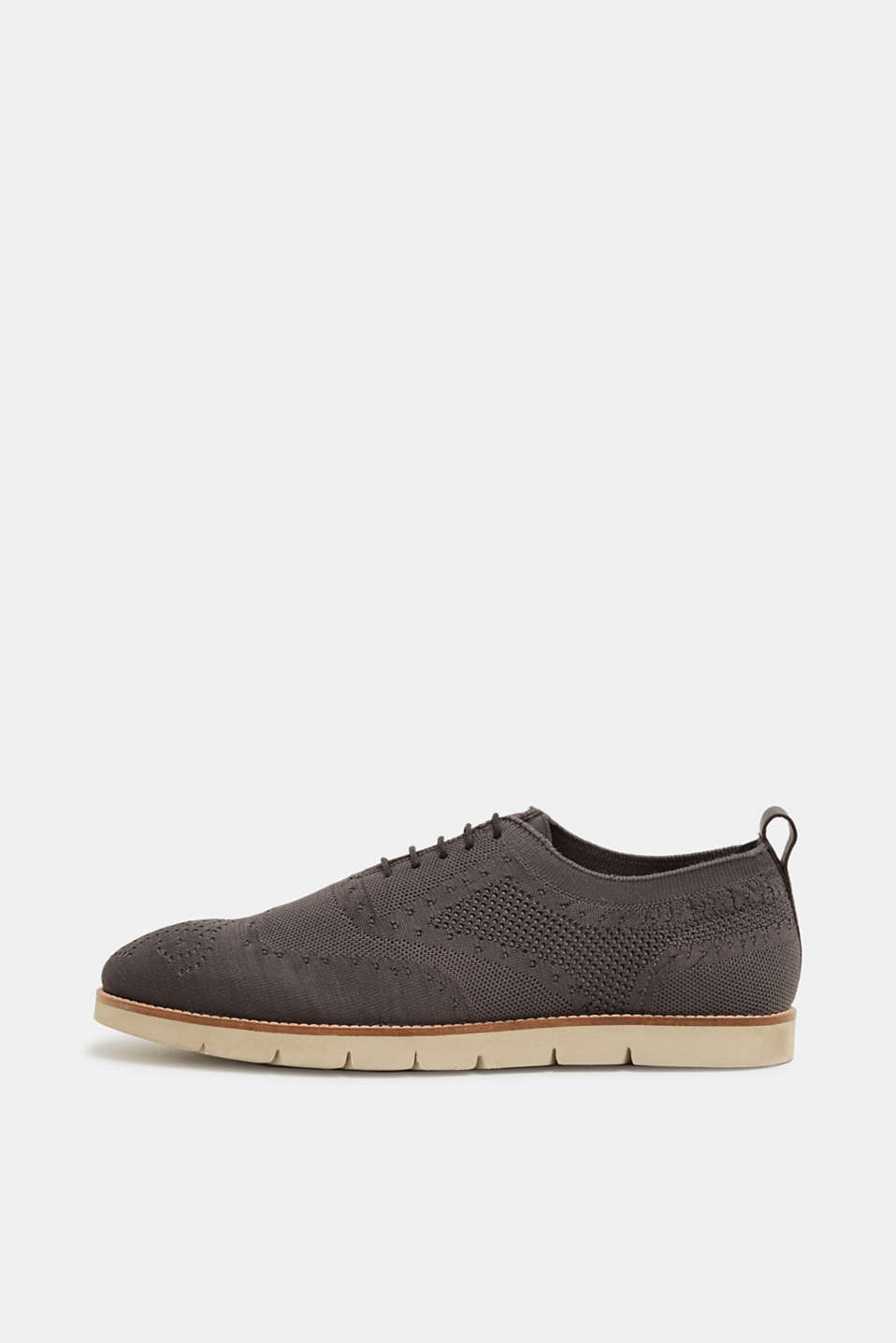 Esprit - Knitted brogues with a Budapest-style intarsia