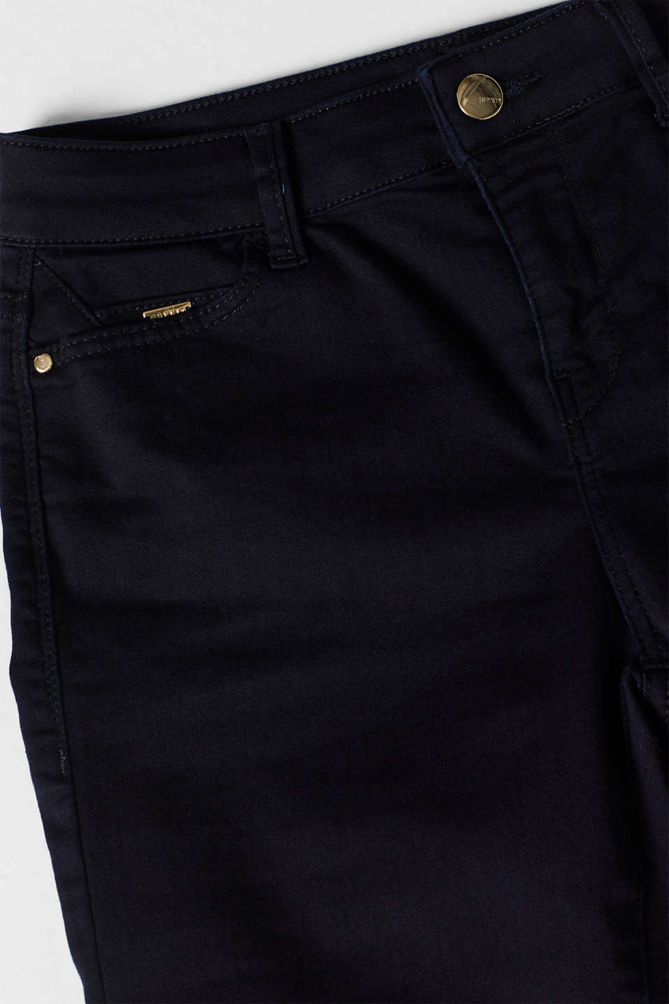 Pants denim, BLUE RINSE, detail image number 4