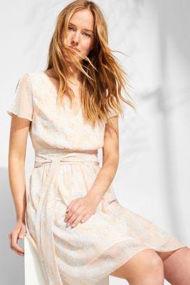 1f93ab093abbcf Esprit : Robe en mousseline à fleurs et ceinture à nouer à acheter ...