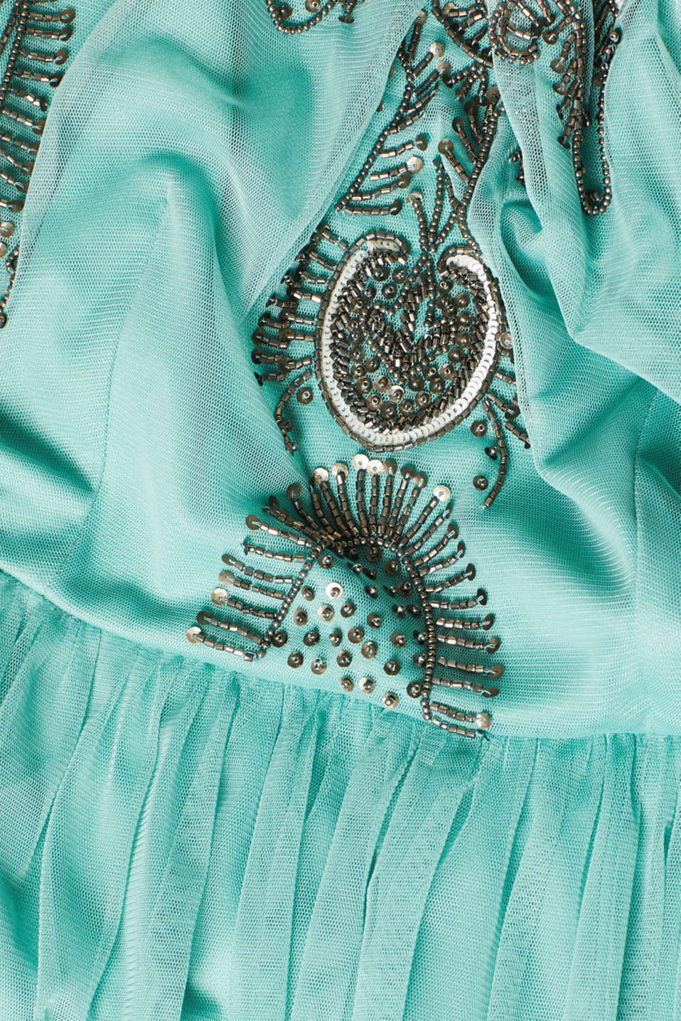 Dresses knitted, DUSTY GREEN, detail image number 4