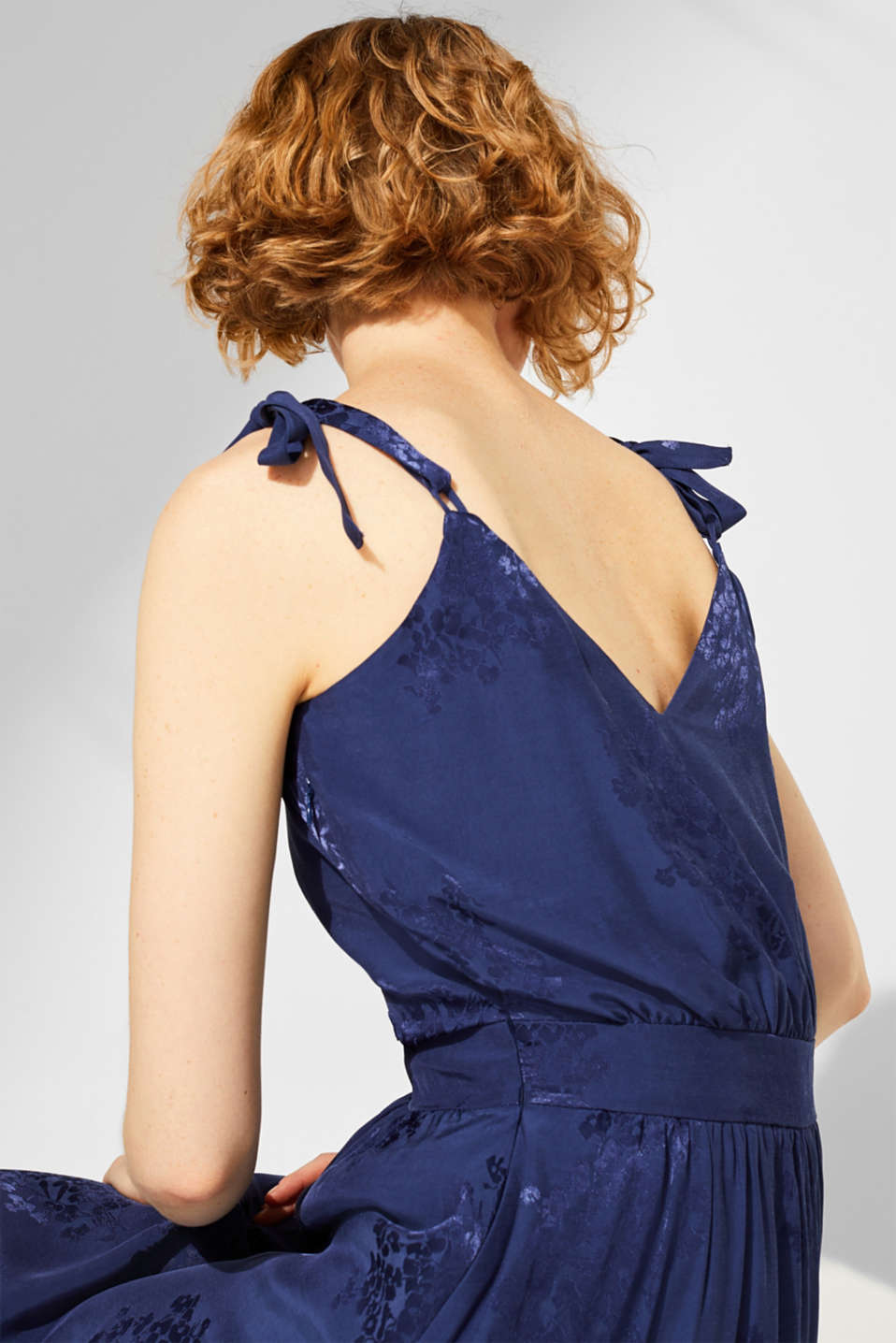 Dresses light woven, NAVY, detail image number 6