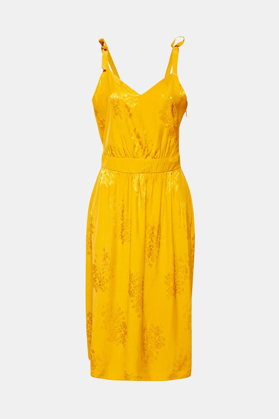 Dresses light woven, YELLOW, detail image number 7