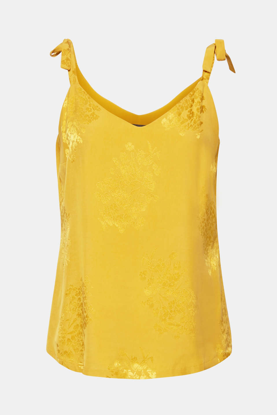 Blouses woven, YELLOW, detail image number 9