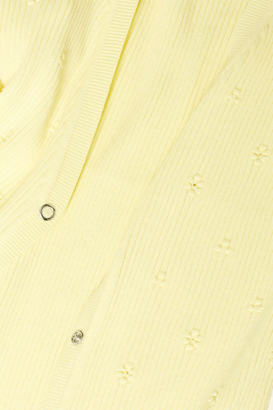 Sweaters cardigan, LIME YELLOW, detail image number 4