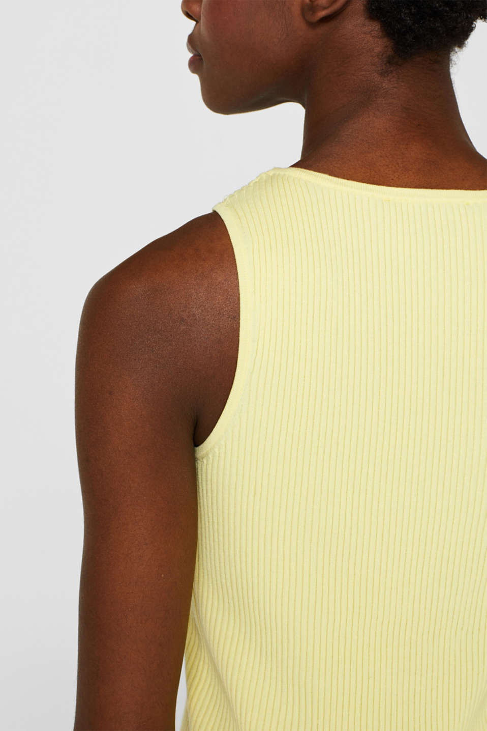 Sweaters, LIME YELLOW, detail image number 2