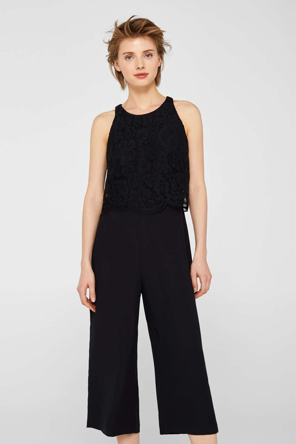 Overalls woven, BLACK, detail image number 2