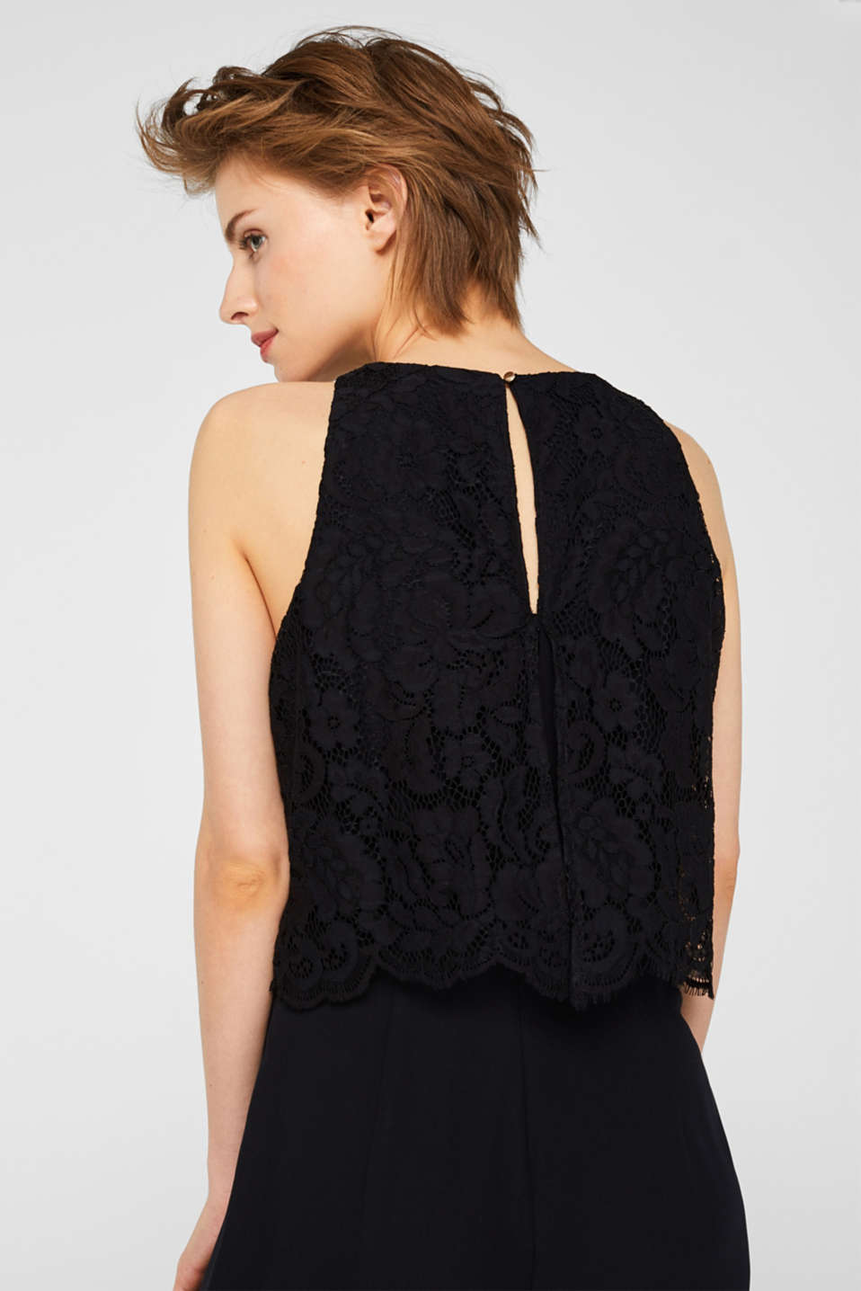Overalls woven, BLACK, detail image number 3