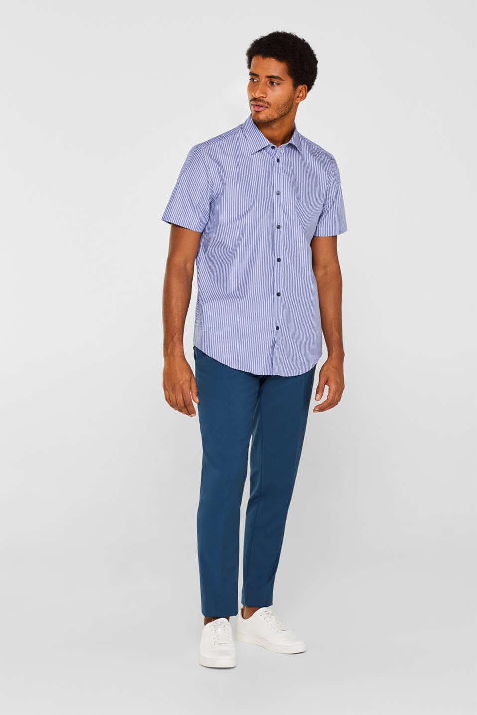 Shirts woven Regular fit, NAVY, detail image number 1