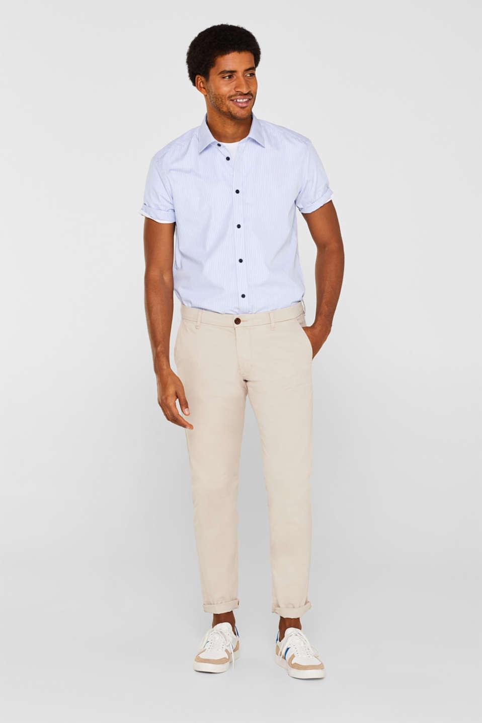 Shirts woven Regular fit, LIGHT BLUE, detail image number 4