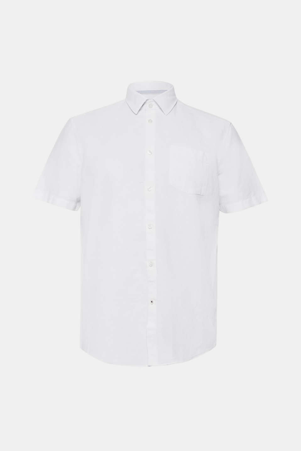 Shirts woven Regular fit, WHITE, detail image number 5