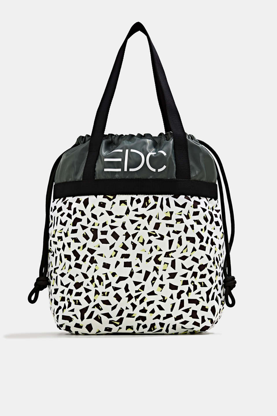 edc - Nylon tote bag with a print