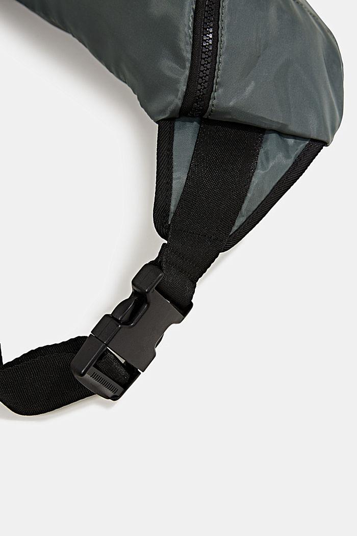 Belt bag van nylon, KHAKI GREEN, detail image number 3
