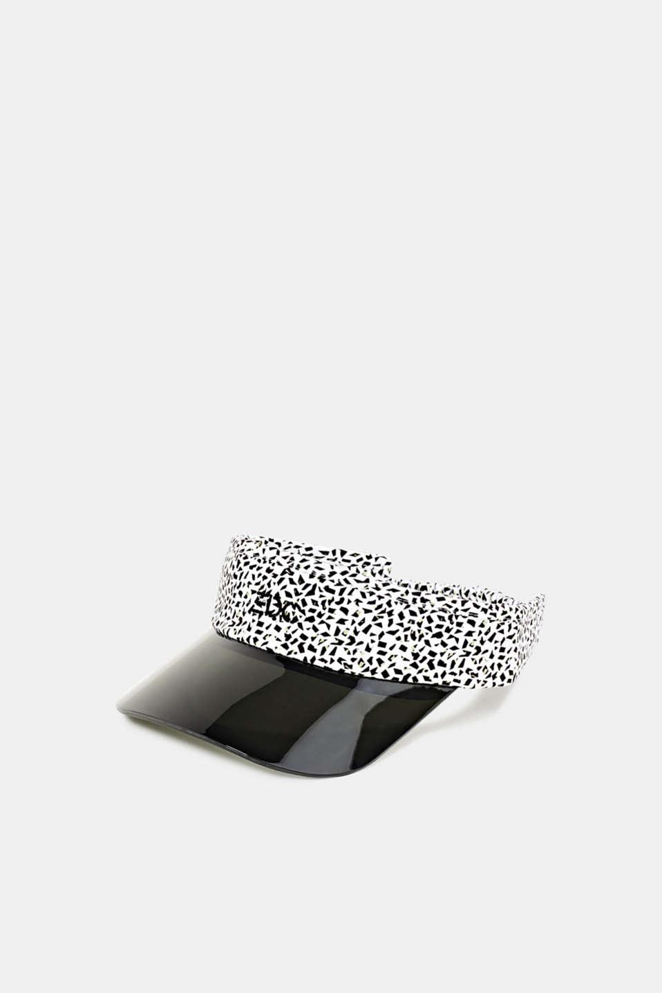 #throwback print visor, WHITE, detail image number 0