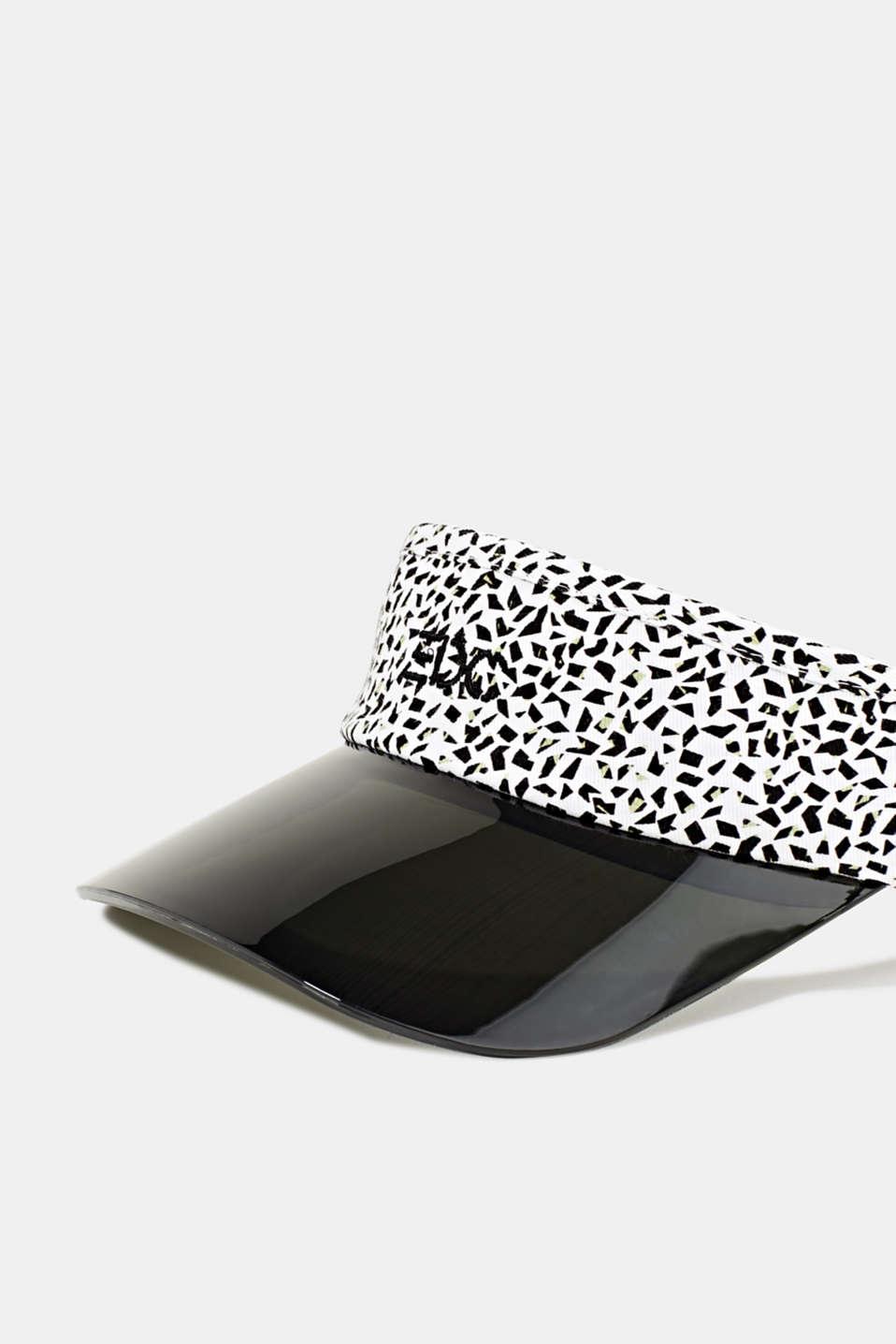 #throwback print visor, WHITE, detail image number 1