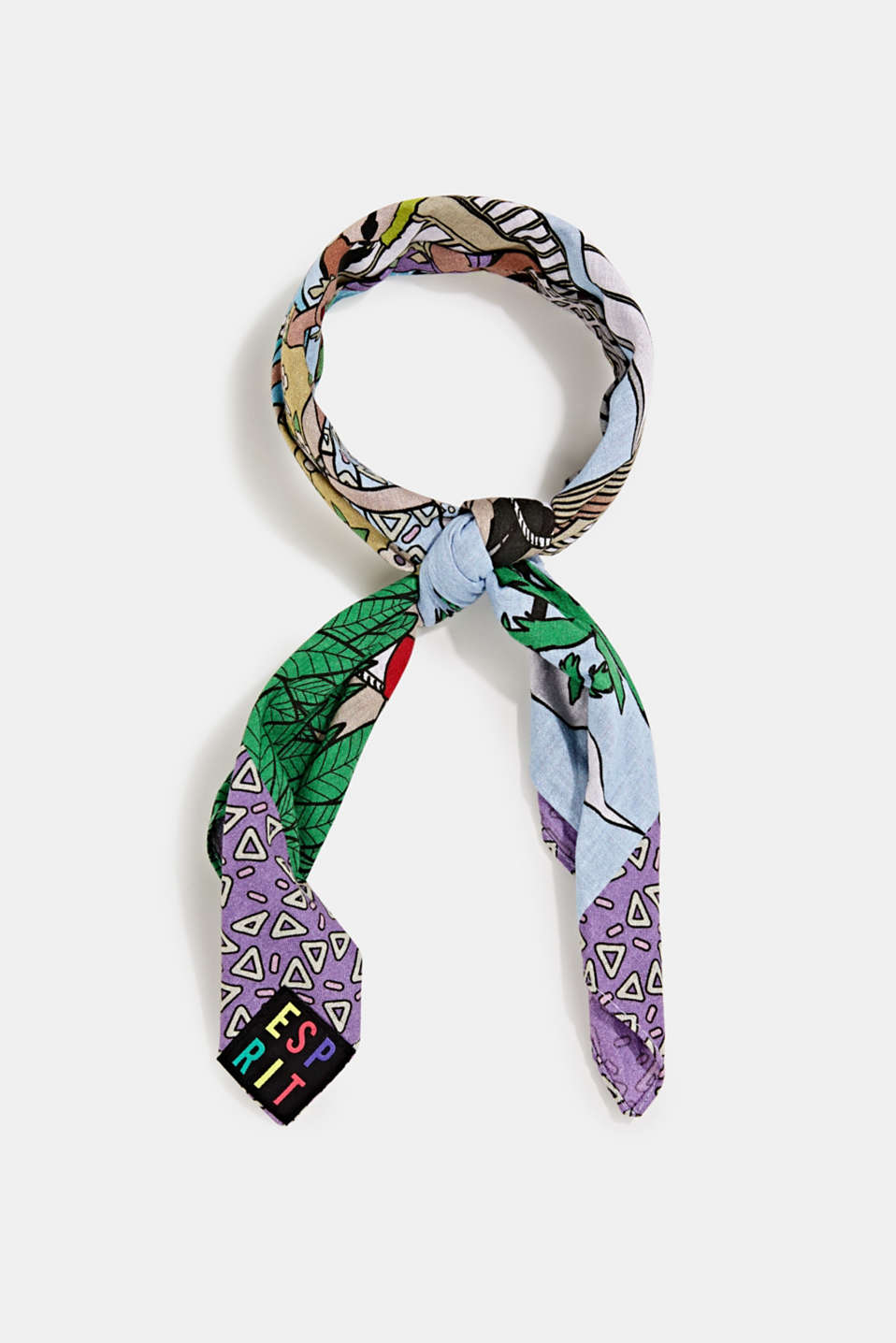 edc - #throwback Bandana mit Print