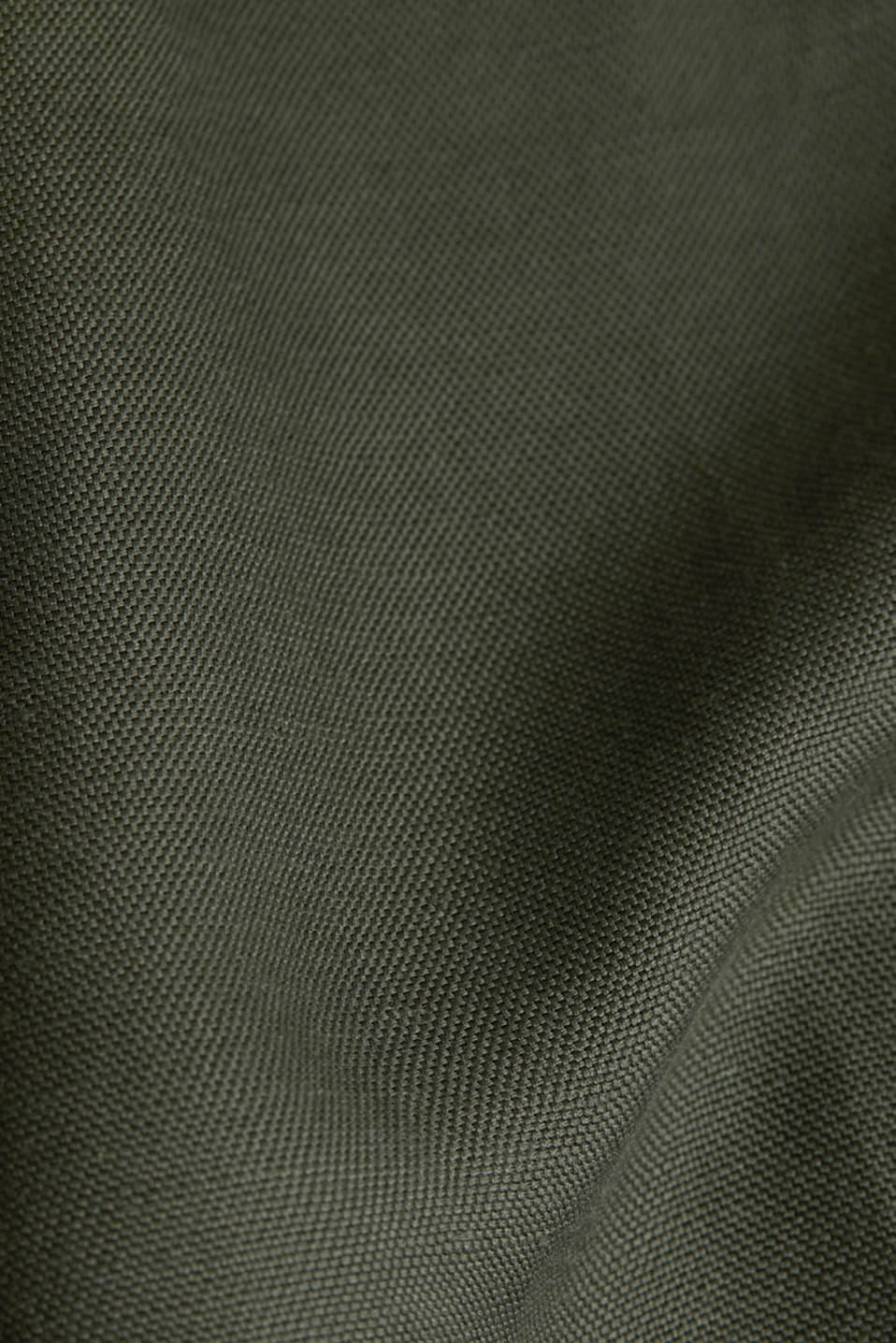 Linen blend: cargo trousers, KHAKI GREEN, detail image number 3