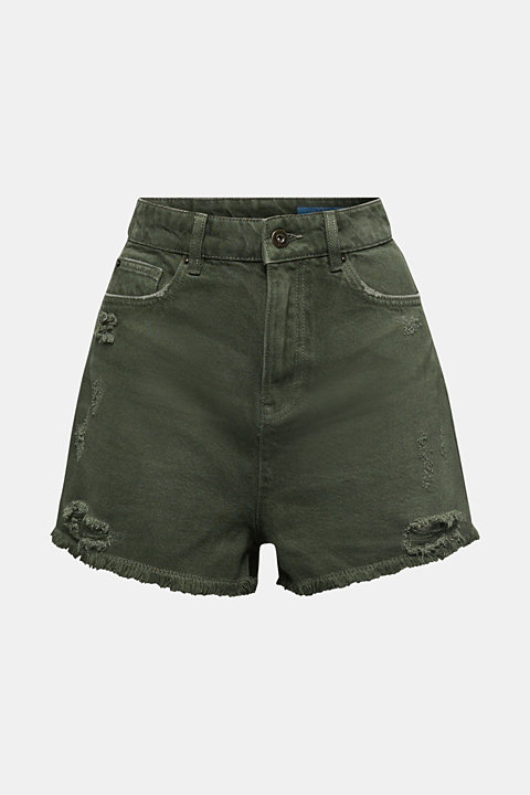 Vintage shorts with lyocell