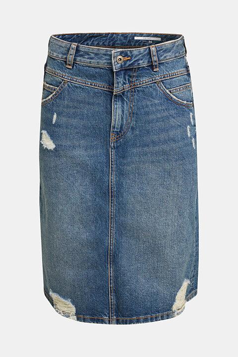 Denim skirt, 100% cotton