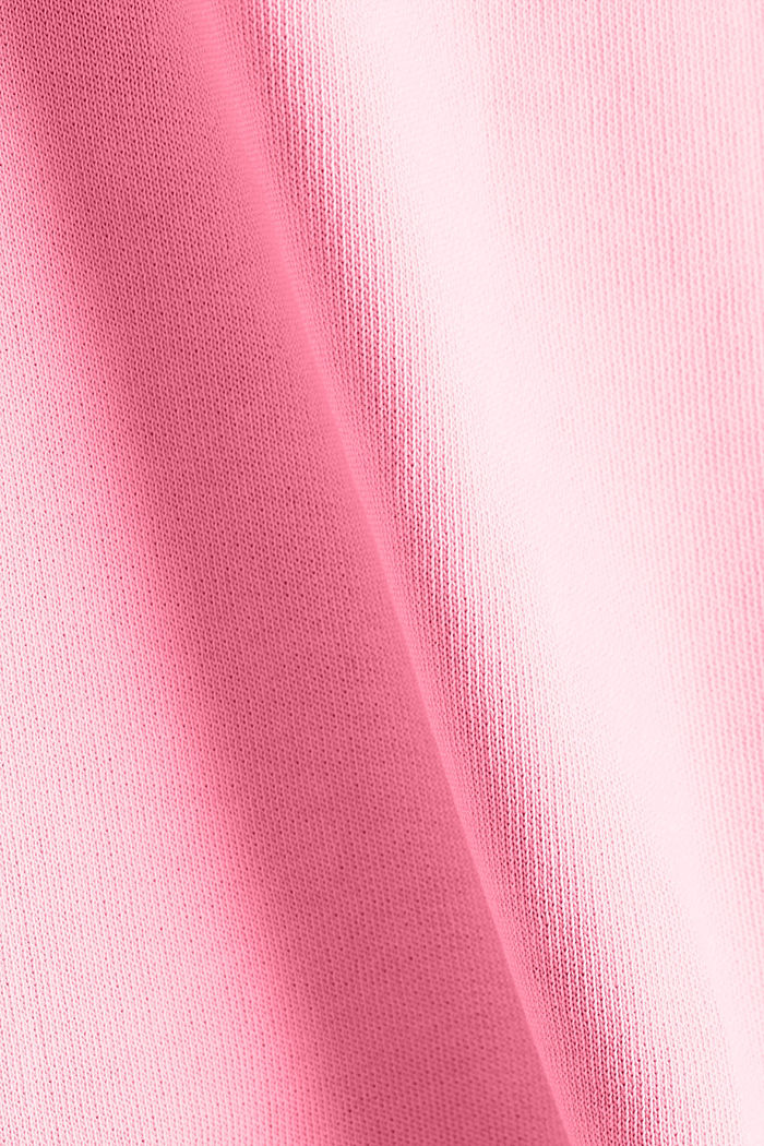 Sweatshirt fabric skirt, 100% cotton, PINK, detail image number 3