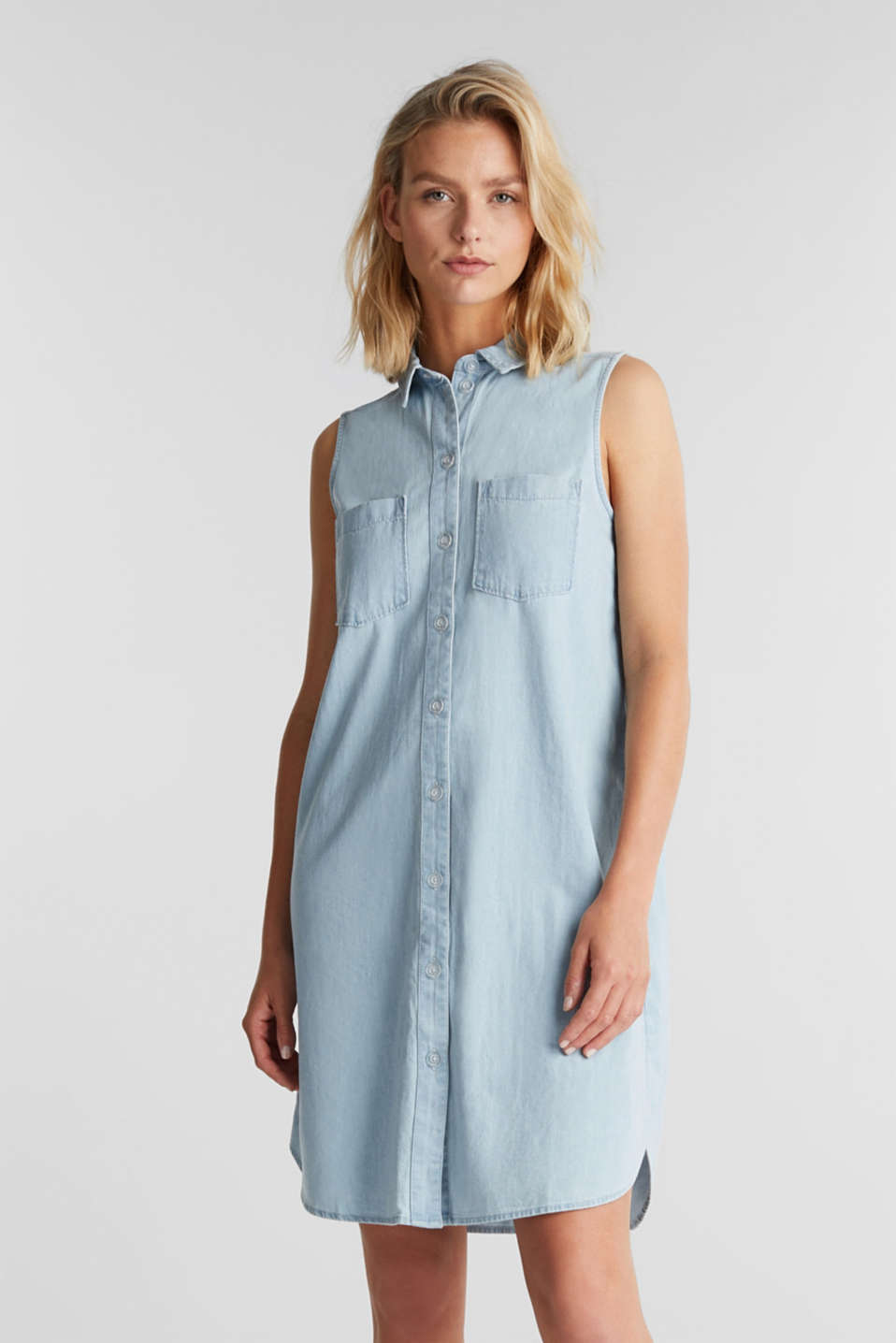 edc - A-line denim dress