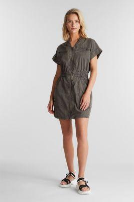 Dress made of 100% organic cotton, GREY, detail