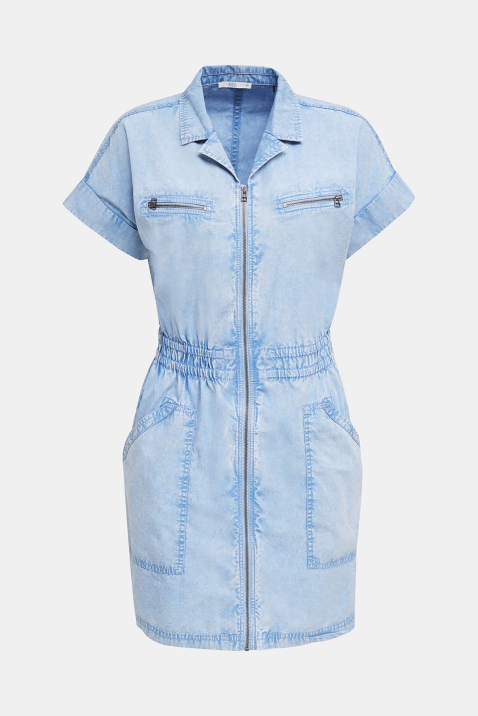 Dress made of 100% organic cotton, LIGHT BLUE, detail image number 6